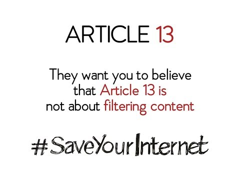 SaveYourInternet – Fight the #CensorshipMachine